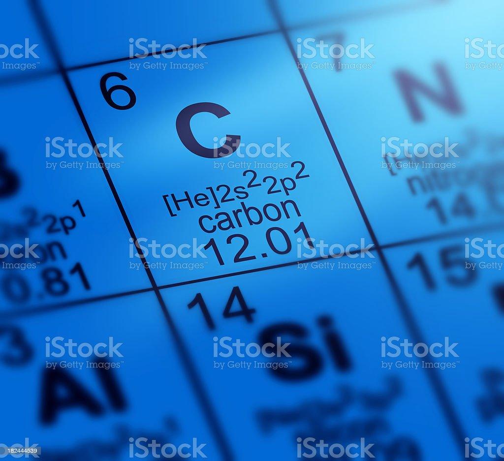 Periodic table carbon stock photo istock periodic table carbon royalty free stock photo gamestrikefo Choice Image