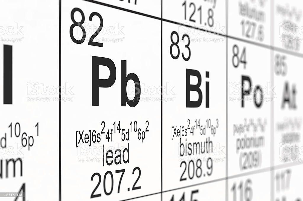 Periodic table lead stock photo more pictures of chemistry istock periodic table lead royalty free stock photo urtaz Gallery