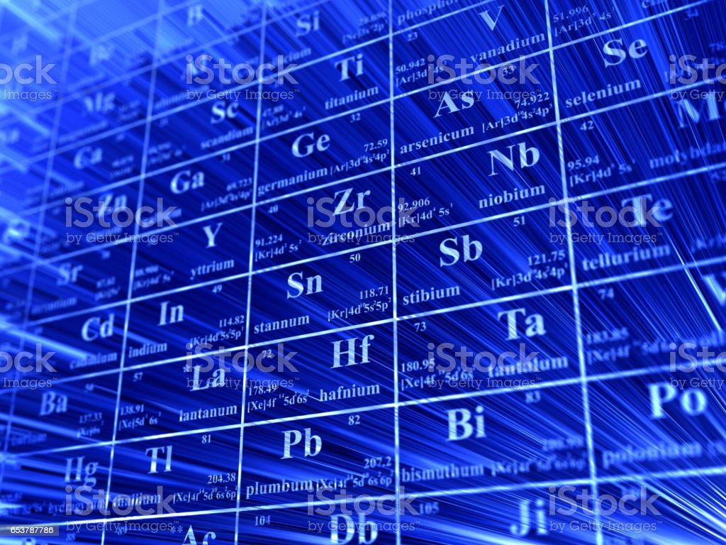 Periodic table stock photo more pictures of abstract istock periodic table royalty free stock photo urtaz Choice Image