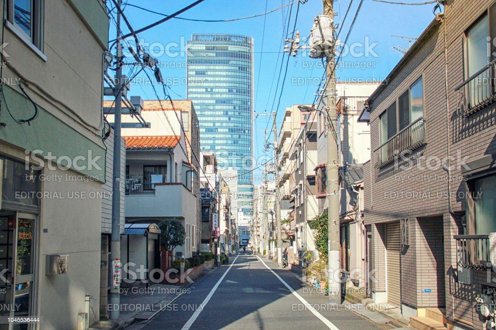 Asakusa neighborhood on Tokyo