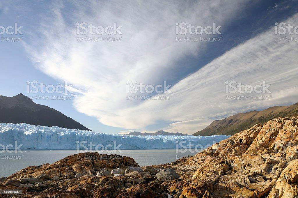 Perito Moreno Glacier, Calafate, Patagonia, Argentina. royalty-free stock photo