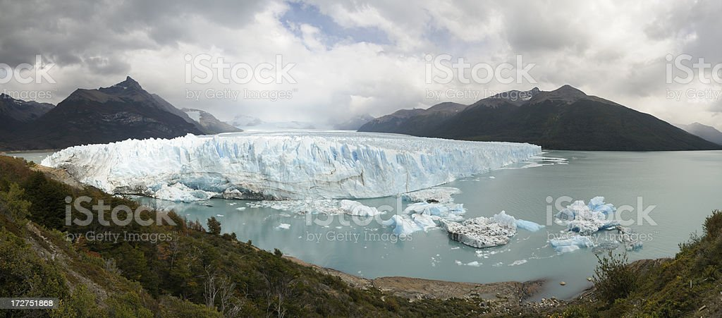 Perito Moreno Glacier, El Calafate, Patagonia, Argentina, South America royalty-free stock photo