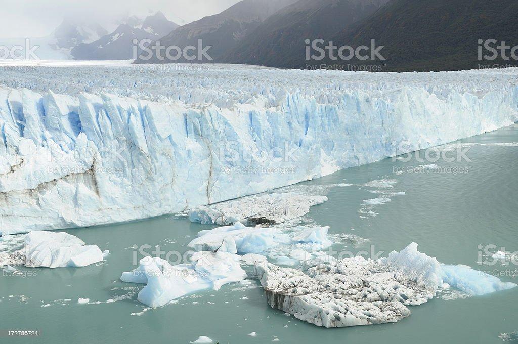 Perito Moreno Glacier, El Calafate, Patagonia, Argentina, South America royalty-free stock photo