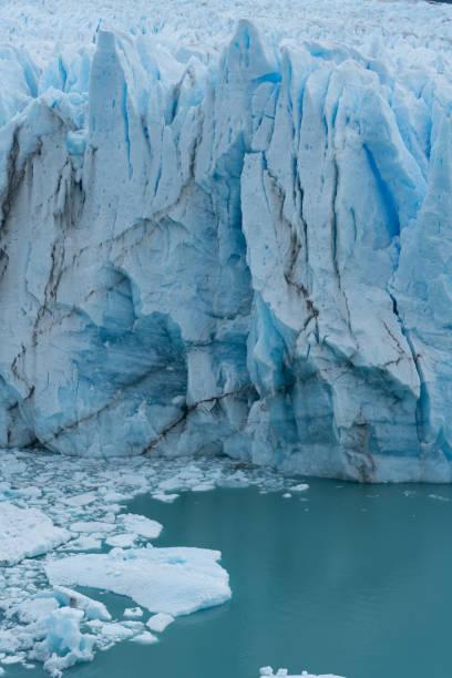 Perito Moreno glacier in Patagonia stock photo