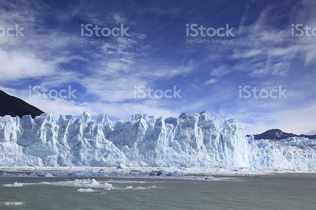 Perito Moreno Glacier, Patagonia, Argentina royalty-free stock photo
