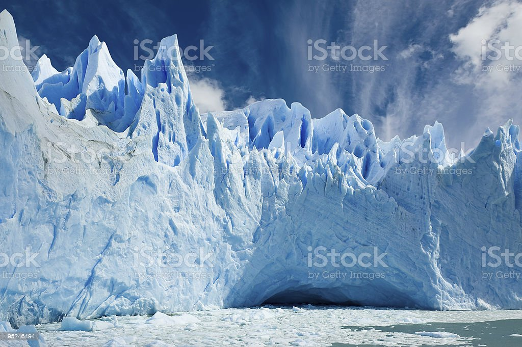 Perito Moreno glacier, Patagonia Argentina. royalty-free stock photo