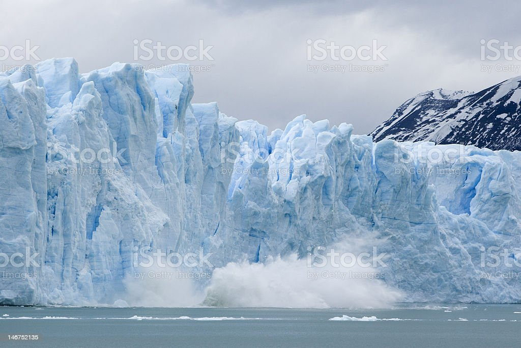 Glaciar Perito Moreno royalty-free stock photo