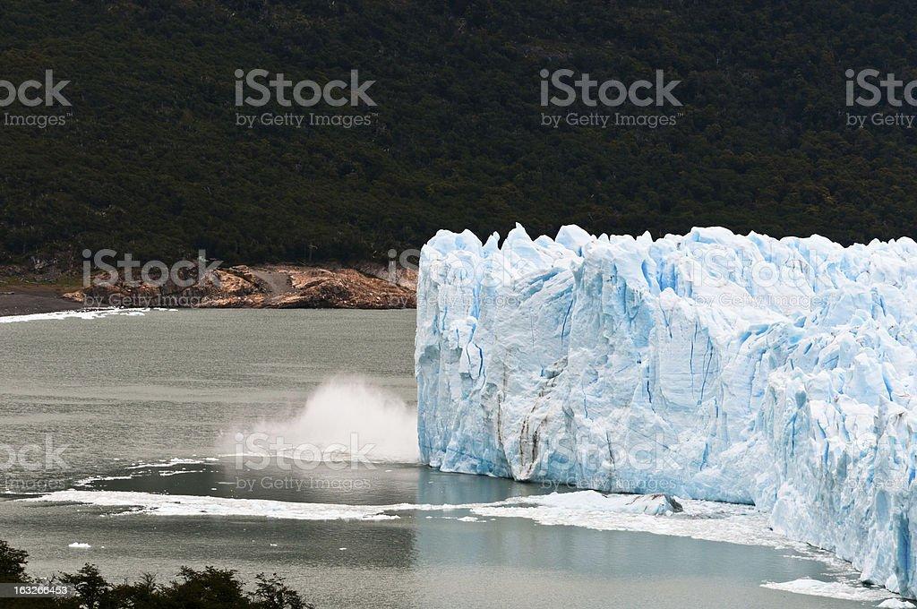 Perito Moreno Glacier (Argentina) royalty-free stock photo
