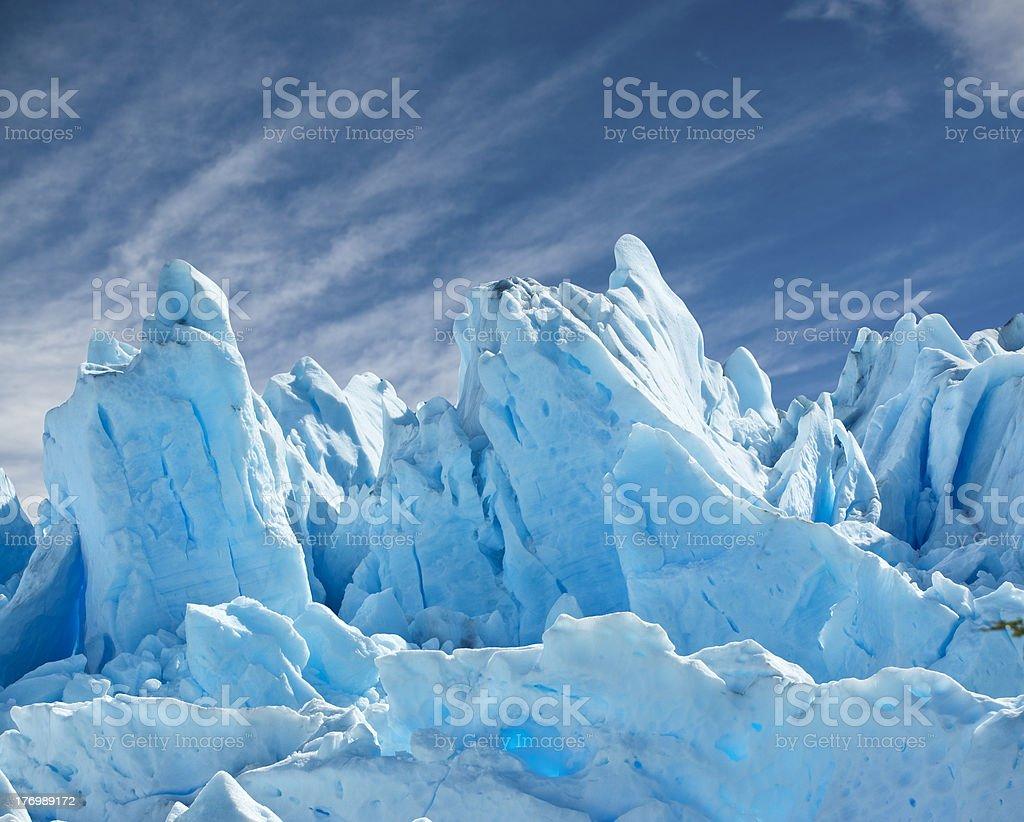 Perito Moreno glacier. stock photo