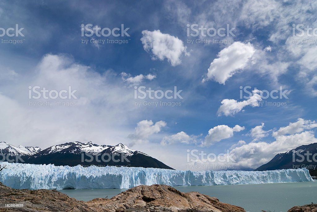 Perito Moreno Glacier (Patagonia) royalty-free stock photo