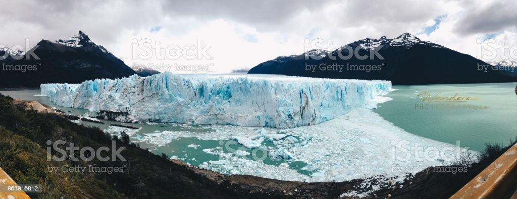 Perito Moreno Glaciers in Patagonia - Royalty-free Argentina Stock Photo