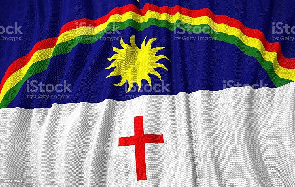 Bandeira do Estado de Pernambuco ilustração 3d - foto de acervo