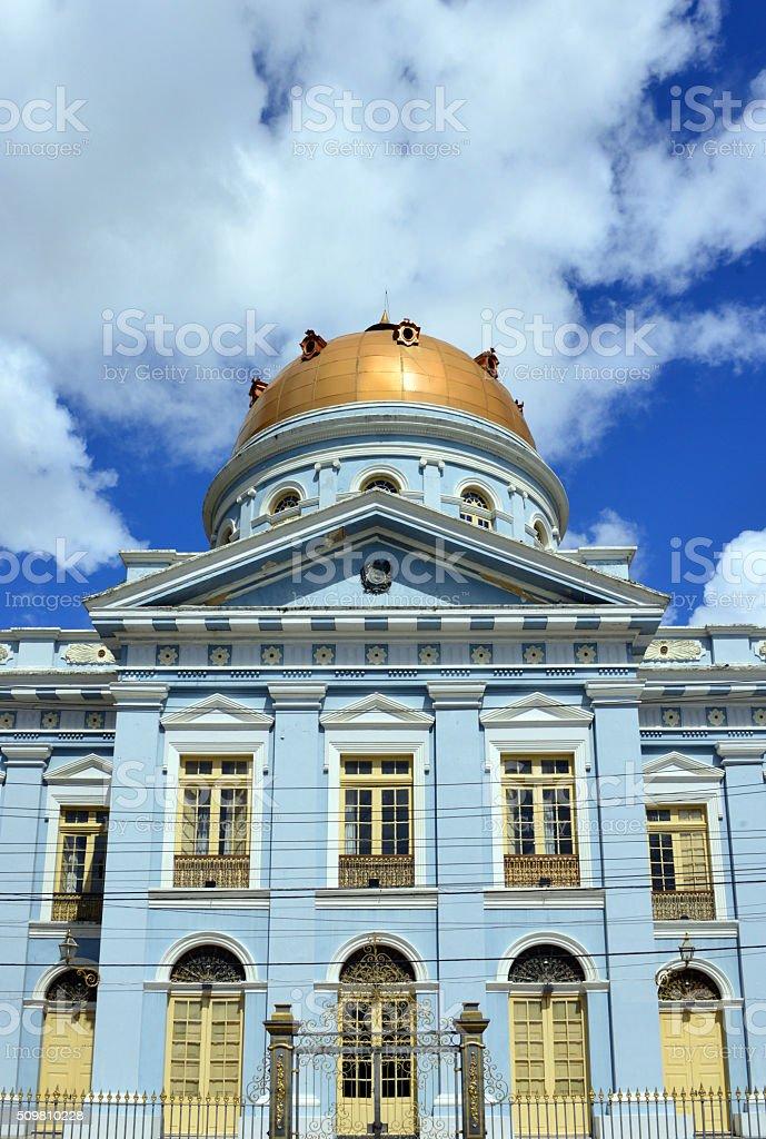 Pernambuco state parliament, Recife, Brazil stock photo