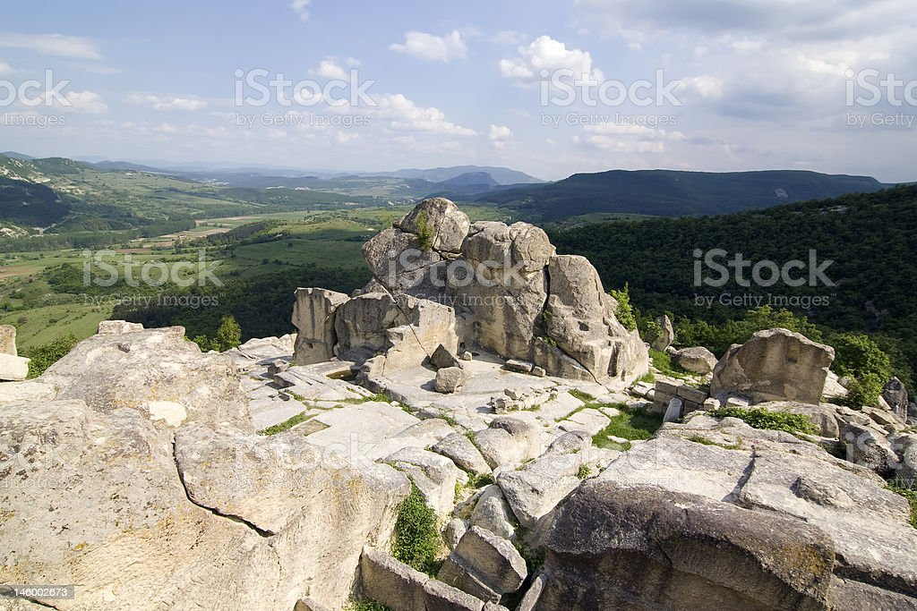 Perperikon, Bulgaria royalty-free stock photo