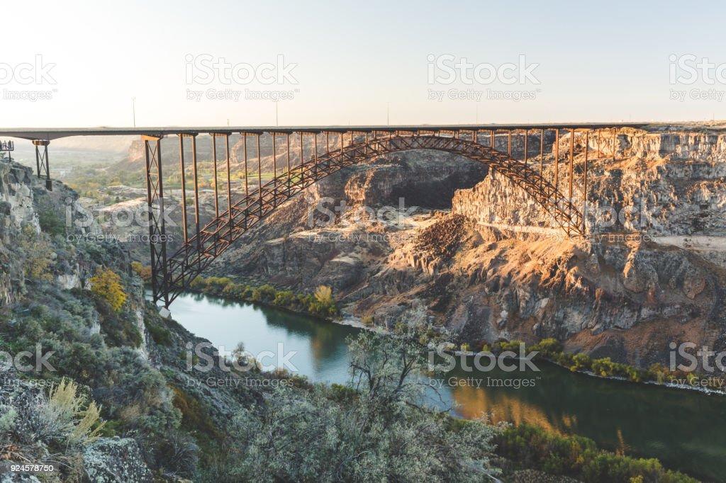 Perrine Bridge In Twin Falls Idaho Stockfoto Und Mehr Bilder Von