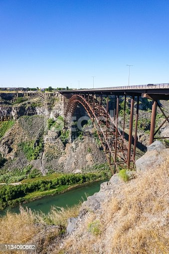 Perrine bridge over Snake river canyon, Twin falls, Idaho