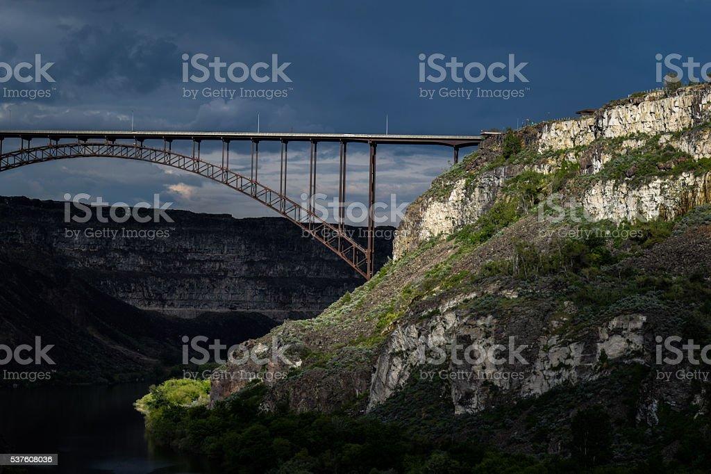 Perrine Bridge stock photo