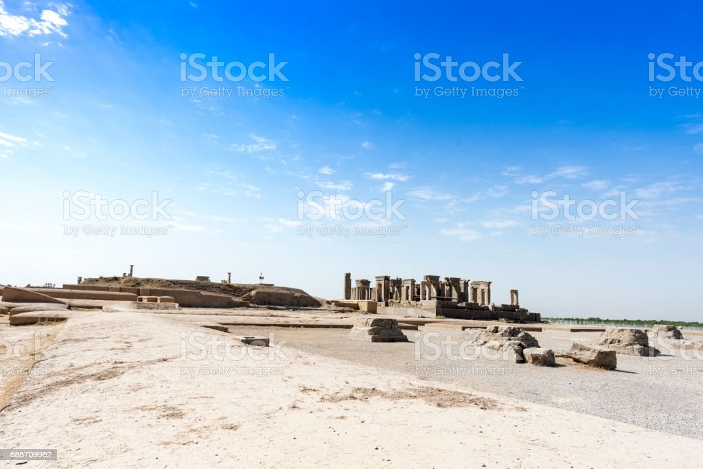 Persapolis, the centre of the great Persian Empire. 免版稅 stock photo