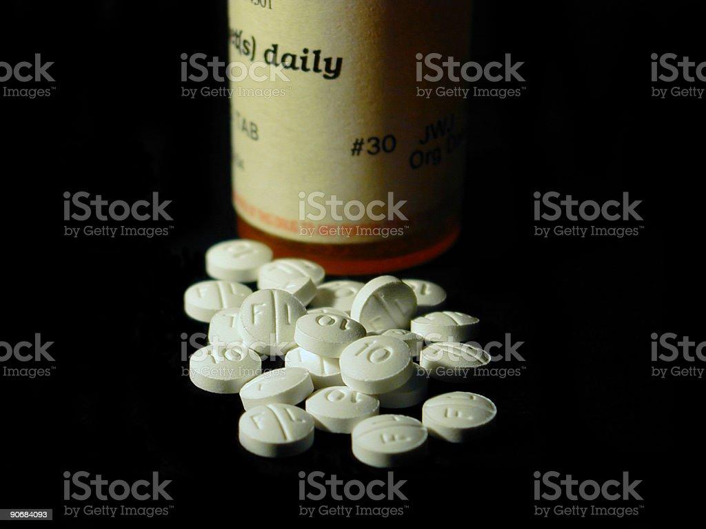 Perscription Medication royalty-free stock photo