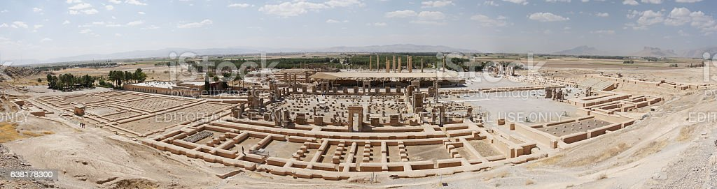 Persepolis close to Shiraz, Iran, Asia - foto de acervo