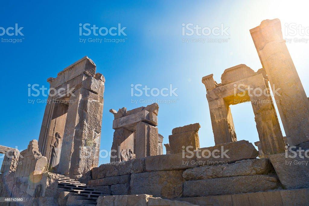 Persepolis Iran stock photo