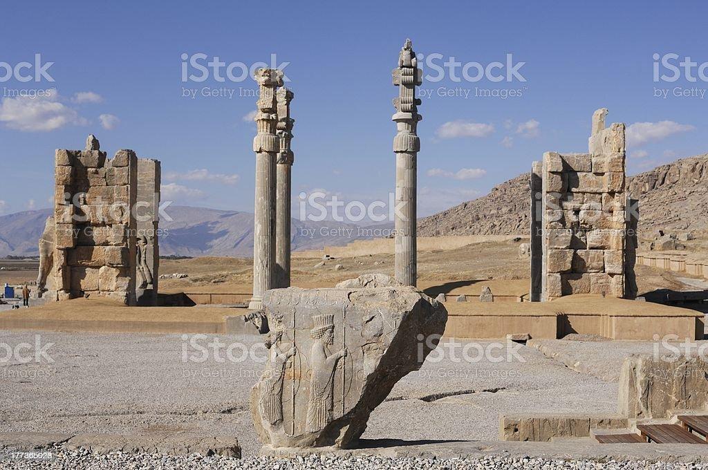 Iran Persepolis Xerxes Gate Stock Photo Download Image Now Istock