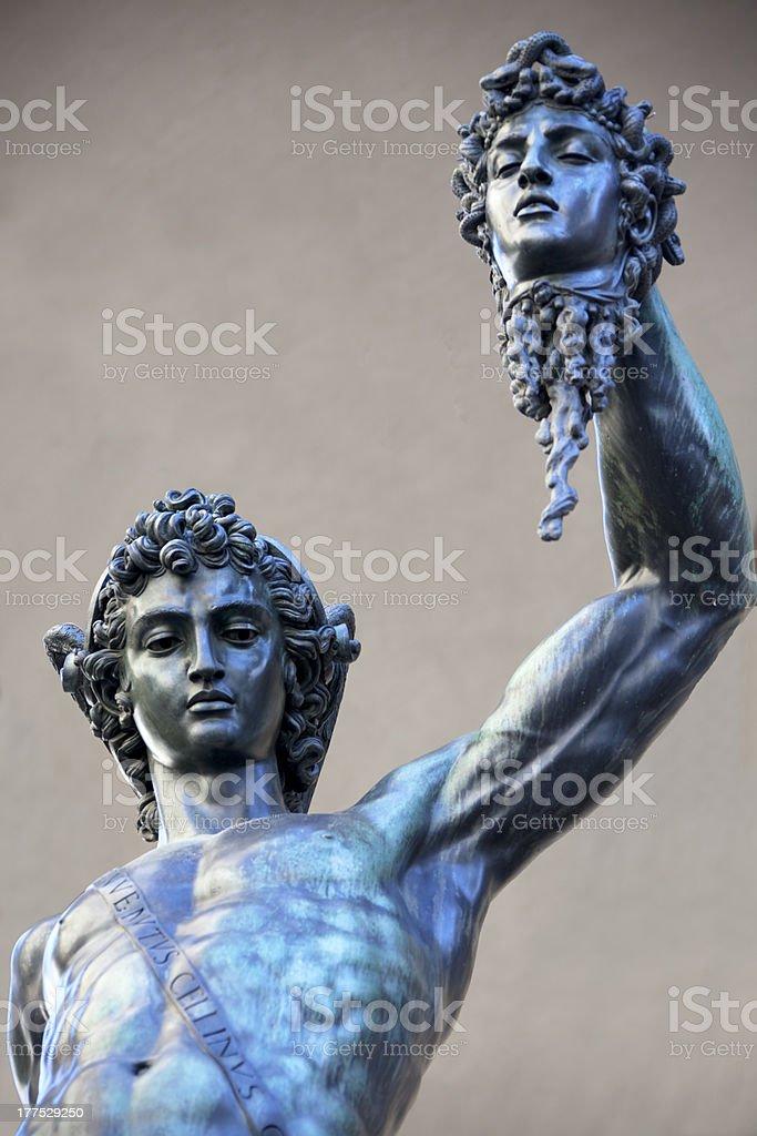 Perseus Holding Medusa Head Stock Photo Download Image Now