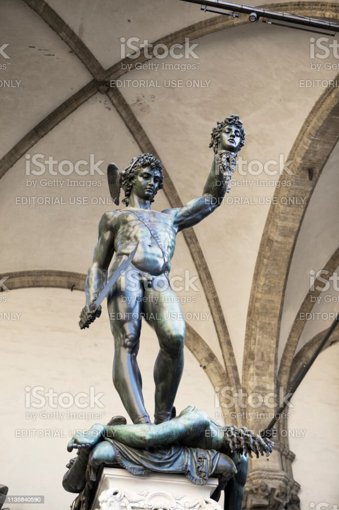 Perseus With The Head Of Medusa Stock Photo Download Image