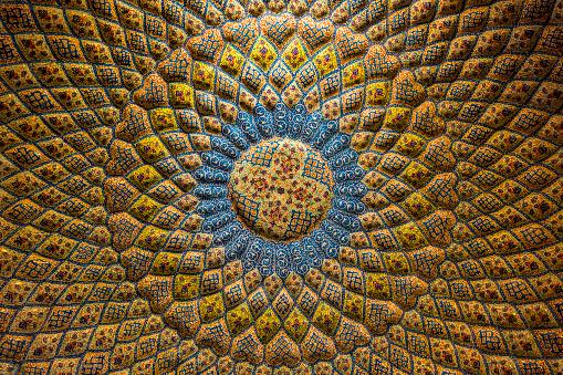 istock Persian architecture and decoration art, Iran 519121352