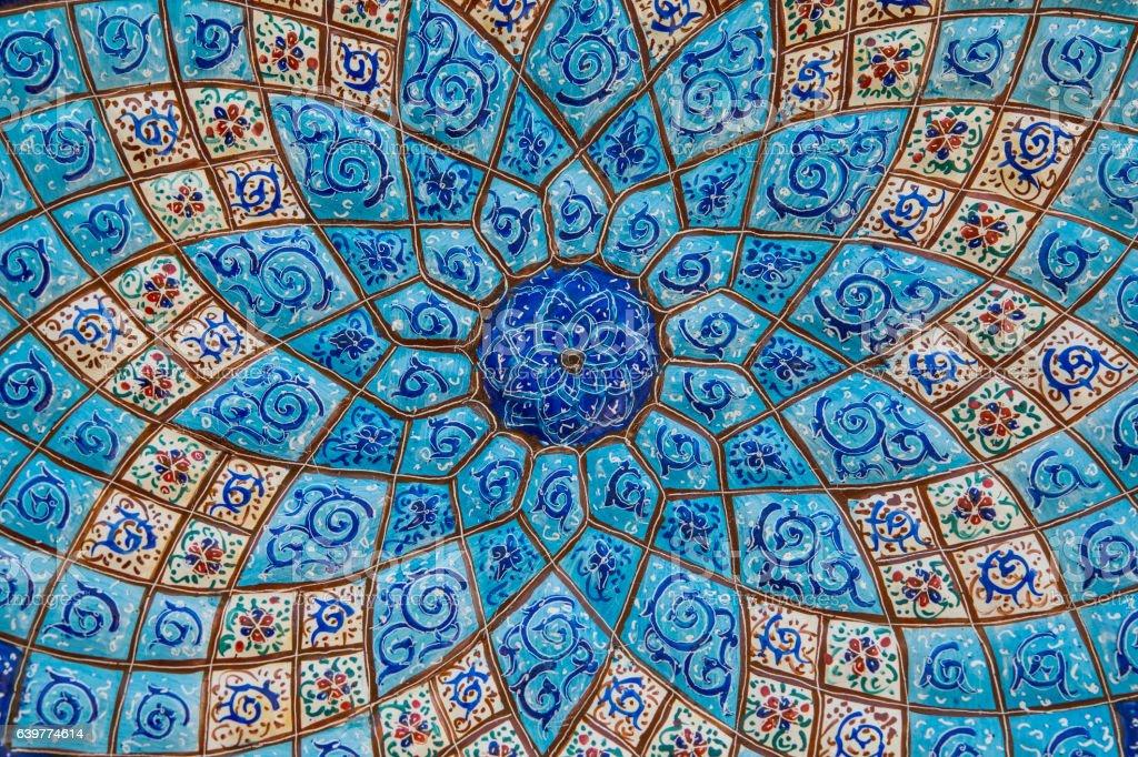 Persische Architektur und Dekoration, Kunstwerke, Iran – Foto