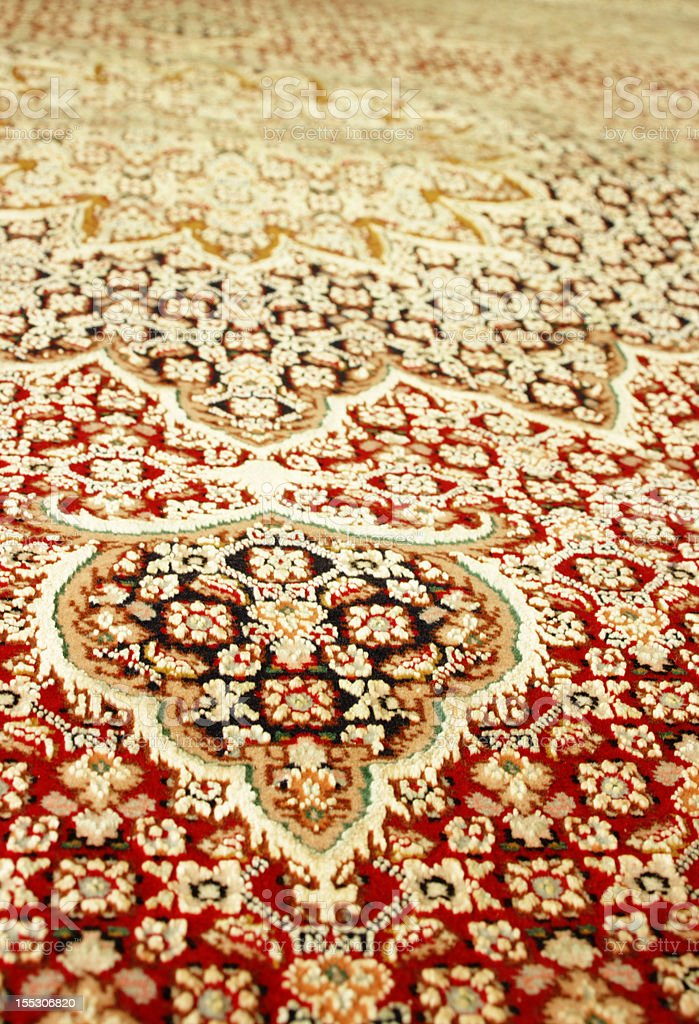 Persian Carpet stock photo