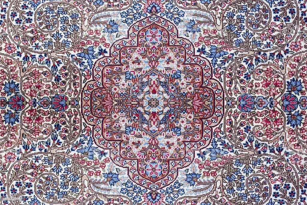 Persian Carpet Texture royalty-free stock photo
