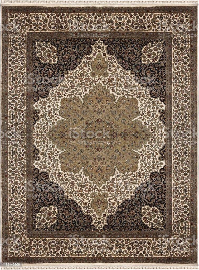 Persian Oriental Rug royalty-free stock photo