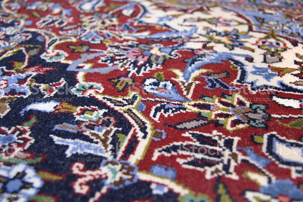 Persian Rug Close Up stock photo