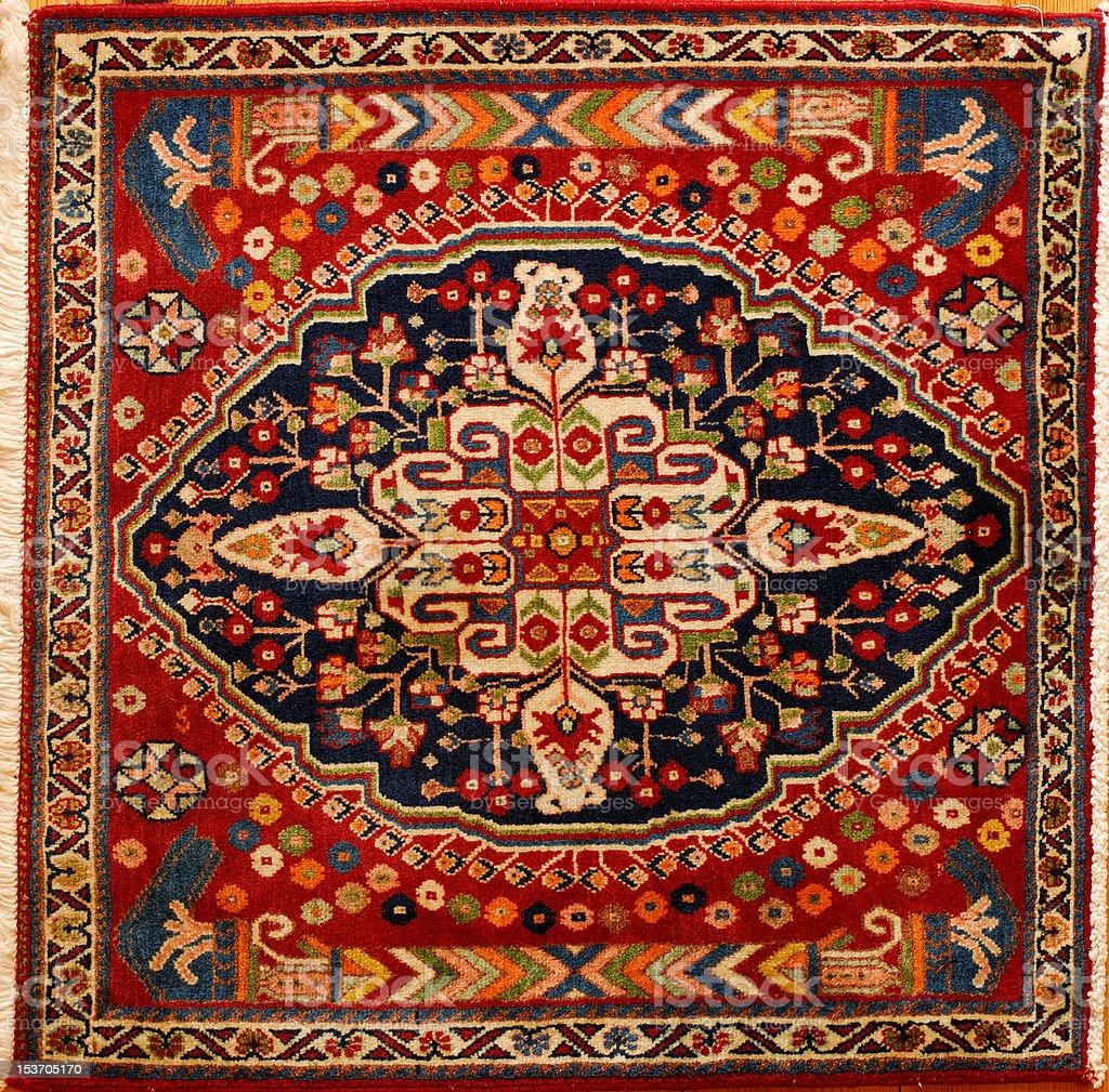 Persian Rug stock photo
