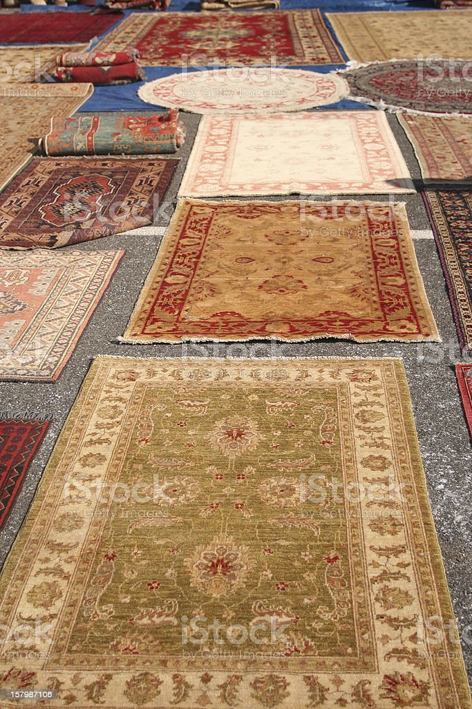 Persian Rugs stock photo