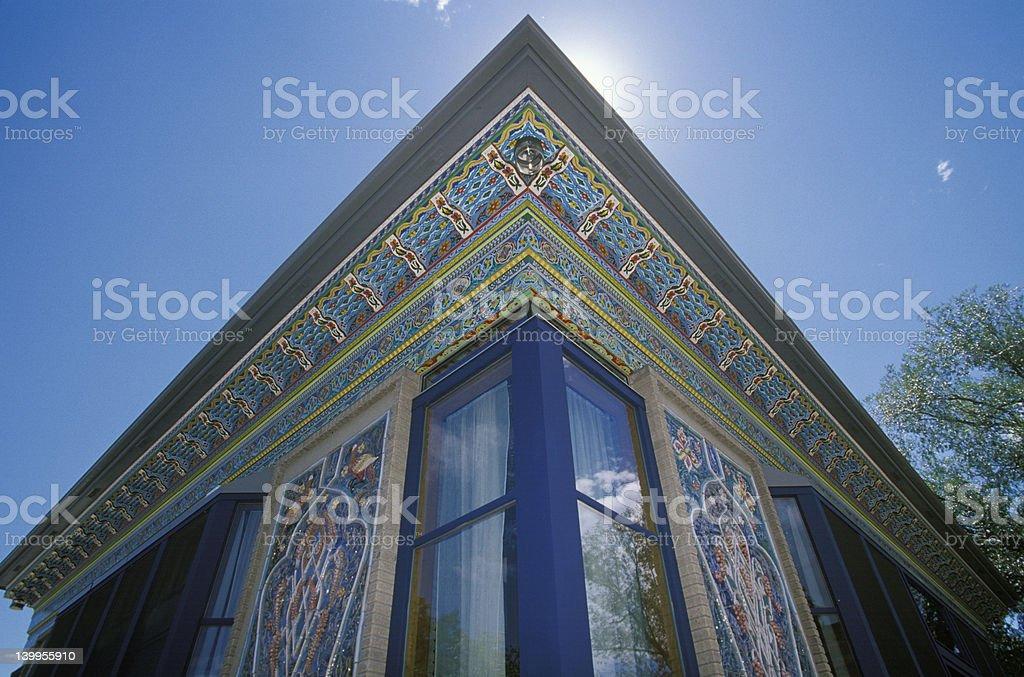 Persian Teahouse Boulder Colorado royalty-free stock photo