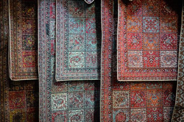 Persian terme in bazaar stock photo