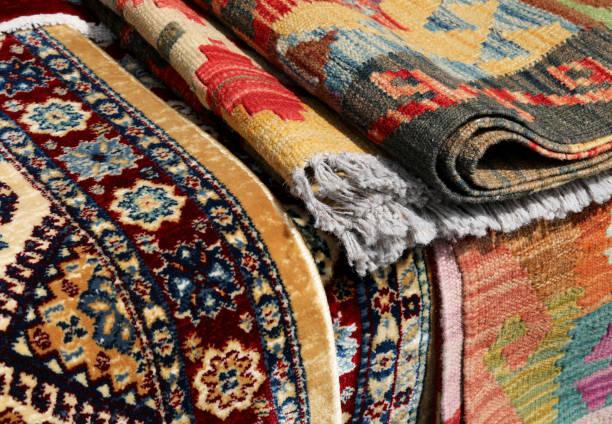 Persische Teppiche und auch Kelim-Typ – Foto