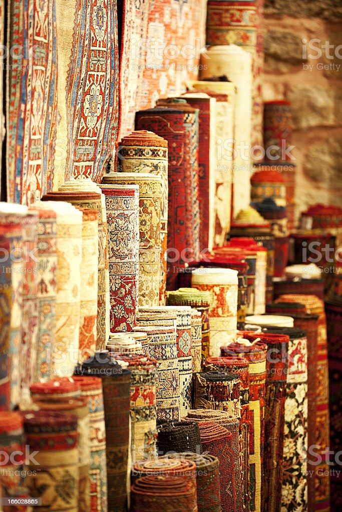 Persianl carpets royalty-free stock photo