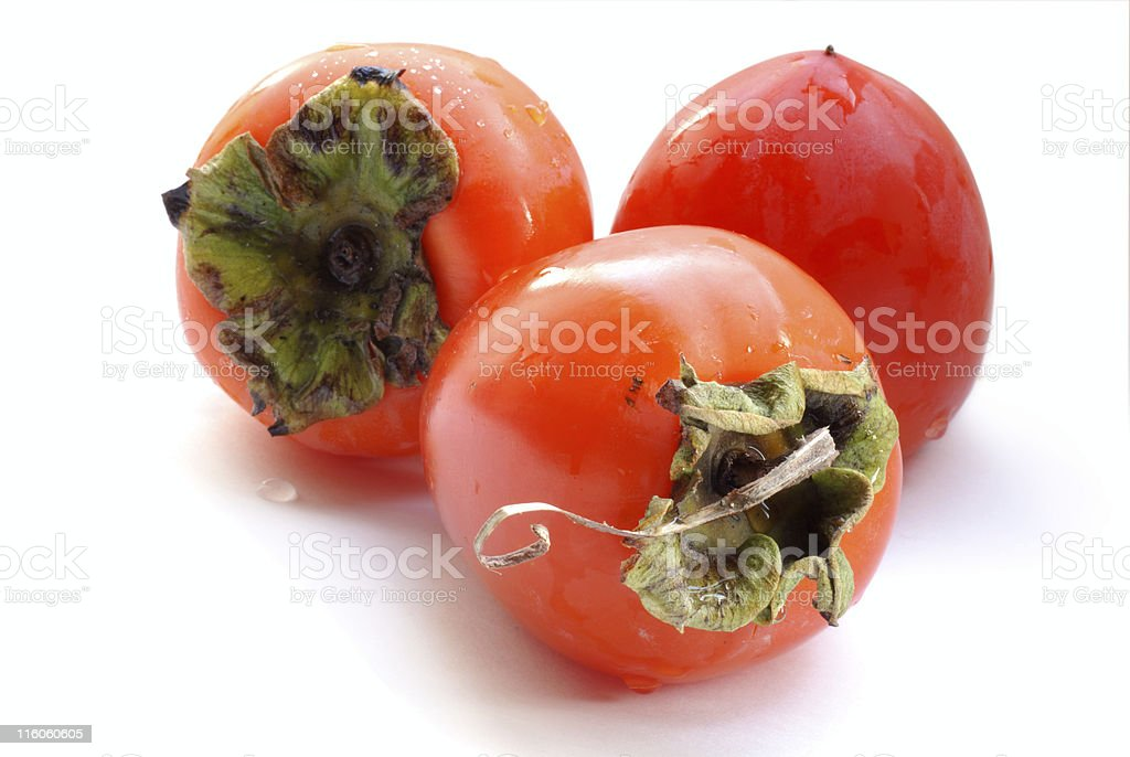 persimmon royalty-free stock photo