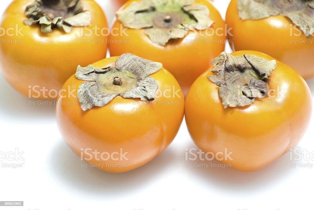 Persimmons. royalty-free stock photo