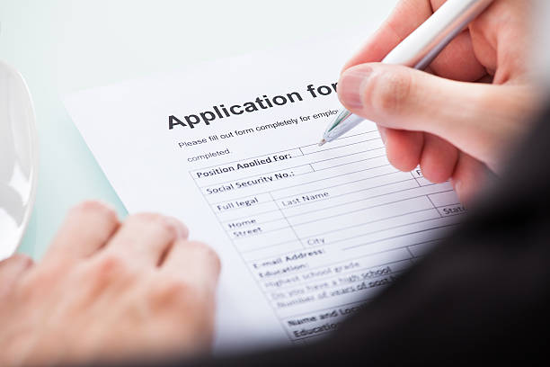 handwritten resume pictures images and stock photos istock