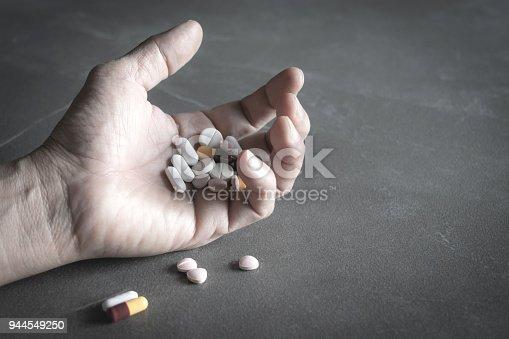 Person having access to prescription drugs and possible accidental overdose