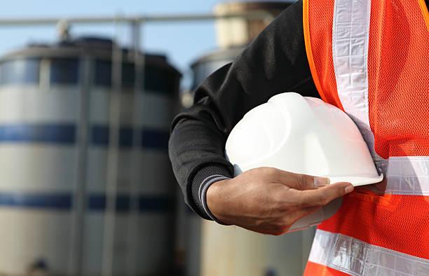 Ingenieur in Öl Raffinerie – Foto