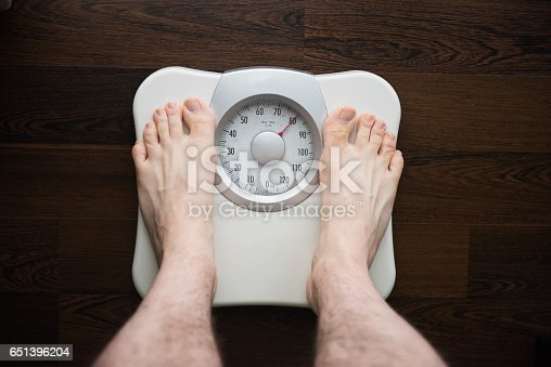 The dieting photo of the balance weight was taken out of an elevated view and a personal prospective.
