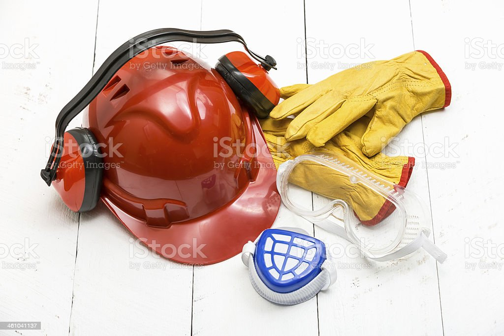 Person Protection Equipment stock photo