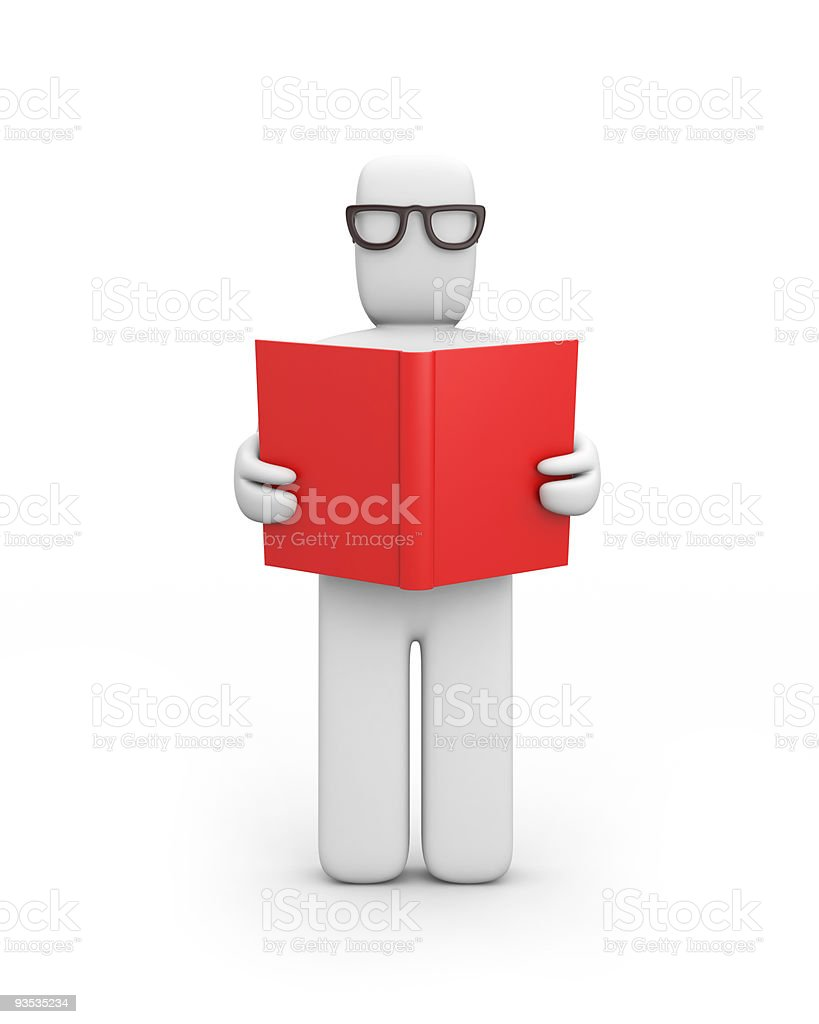 Person read the book royalty-free stock photo