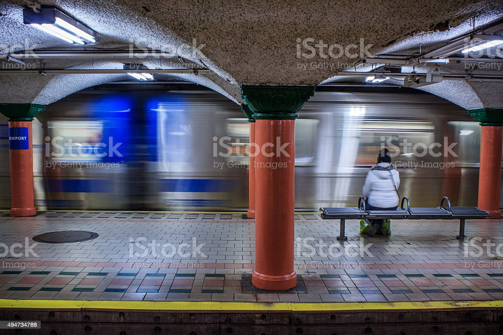Person Travelling stock photo