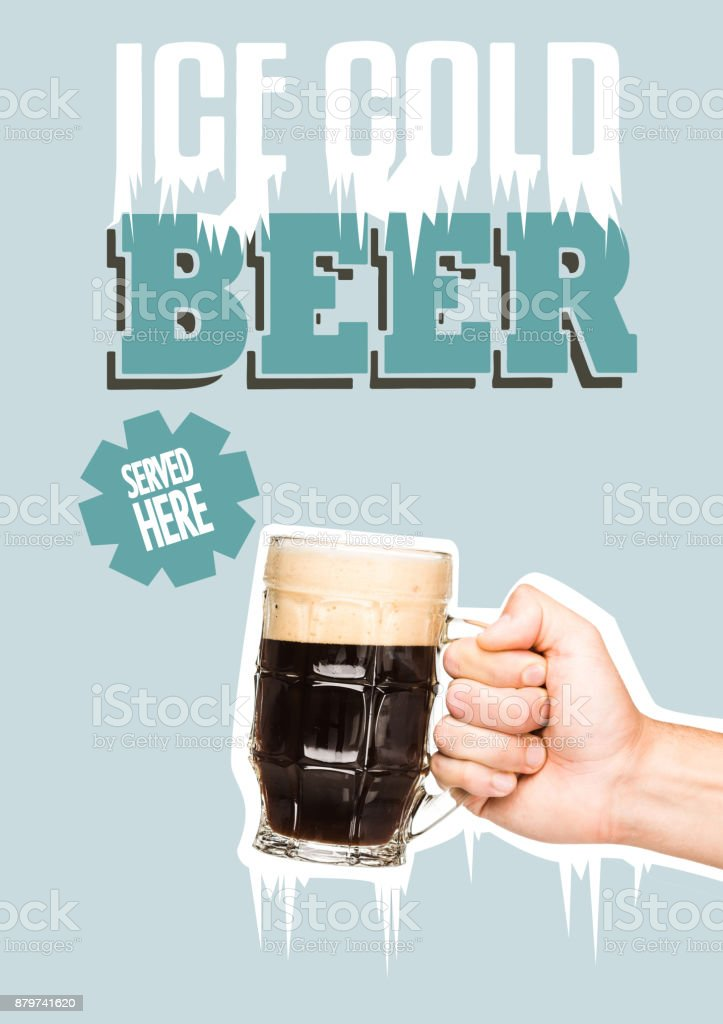 person with glass of dark beer – zdjęcie